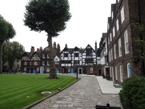 Best preserved Tudor-style buildings in the London Tower