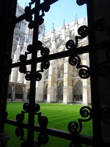 Cloister Garth, Westminster Abbey