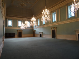 The Assembly Rooms where they would hold balls and social functions