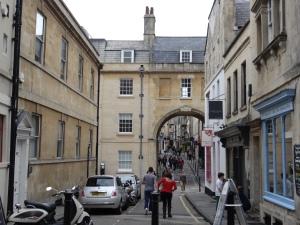 Free walking tour of Bath