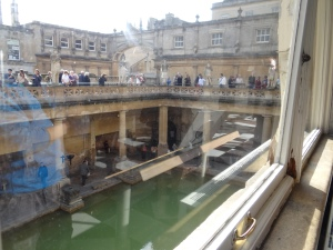 The Roman baths dating from 72 AD