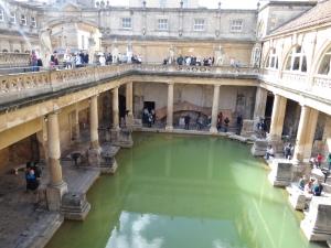 Hot spring Roman baths