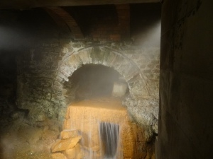 More of the underground network of hot baths the romans built