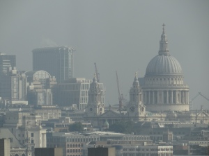 St. Paul's Cathedral from the Eye