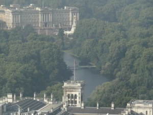 Buckingham Palace from the Eye