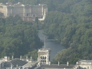 Buckingham Palace from the Eye