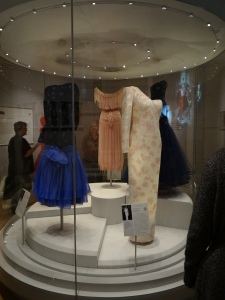 Kensington Palace display of Princess Diana's dresses