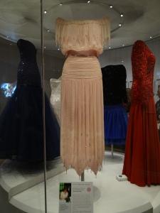 Princess Diana's dress at Kensington Palace