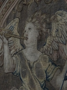 Tapestry in Hampton Court worth a fortune!