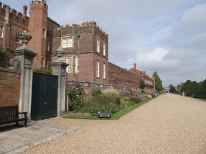 back of Hampton Court