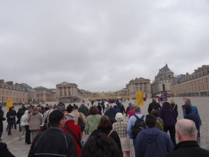 First view of Versailles