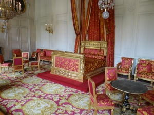 Queen of Belgium's bedchamber at Petit Trianon