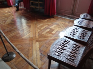 The parquet floors are still in good shape since 1762!