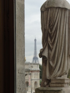 View from Napoleon's apt.
