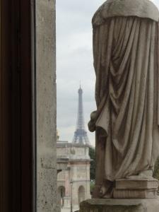 View from Napoleon's apt.