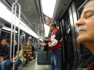 A little music on the Metro