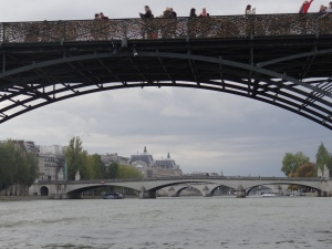 Boat ride on the Seine