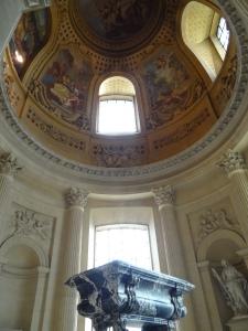 The dome in Napoleon's tomb