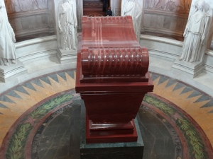 Napoleon's tomb from above