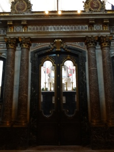 The chapel on the other side of Napoleon's tomb