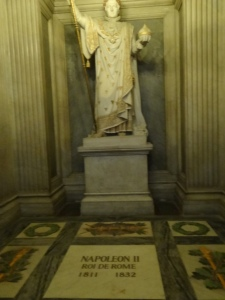 Napoleon's son was buried here