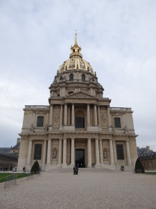 The front of the building of Napoleon's tomb