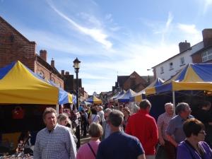 Busy Sunday in Stratford