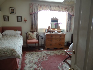 One of the rooms at our B & B.