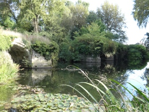 This is what is left of a 14th century bridge