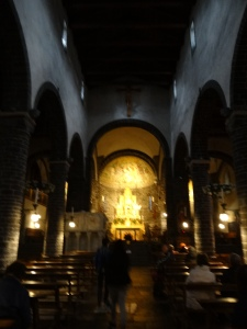 The church in Ballagio