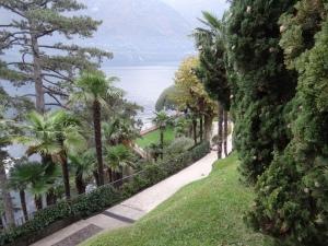 The grounds of Villa dell Balbianello