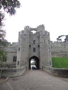 The original front entrance