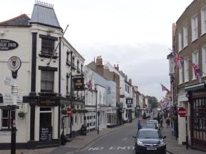 Village of Eton across the Thames from Windsor
