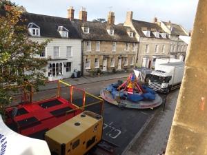 Street fair right below our window