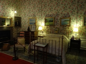 Winston Churchill was born here - his cousin was the 9th Duke of Marborough
