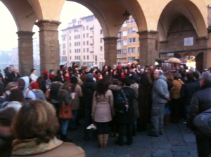 Natale at the Ponte Vecchio