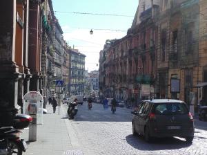 Naples city streets