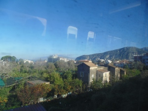 Sights from our Circumvesuviana train