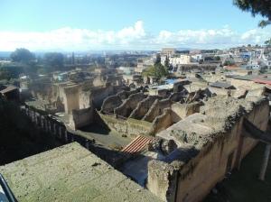 The ruins of Herculaneum