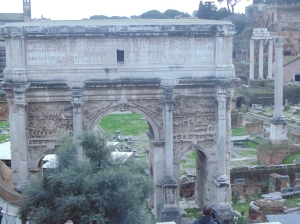 Arch of Septimius Severus in the Forum
