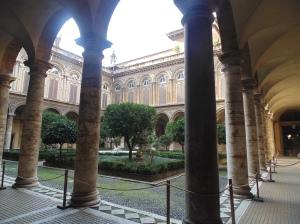 Palazzo Doria Pamphilj courtyard