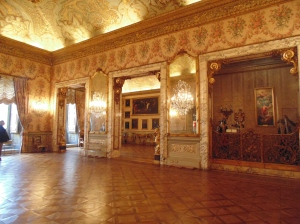 Ball room of Palazzo Doria Pamphilj