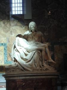 Michelangelo's Pieta'