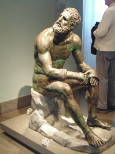 National Museum of Rome - Bronze statue of a boxer - B.C.