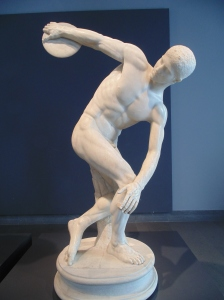 The best-preserved Roman copy of the Greek Discus Thrower