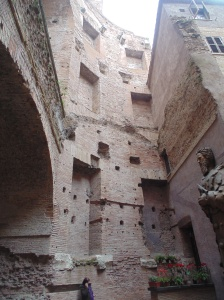 Part of the Baths of Diocletian