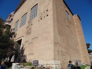 The Curia - Senate house -A.D. 283.  Rome's official center of government