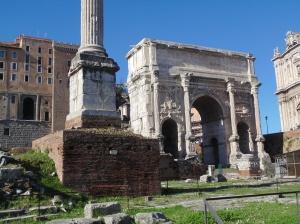 Arch of Septimus Severus - emperor A.D. 203