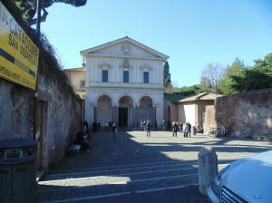 San Sebastiano church and catacombs