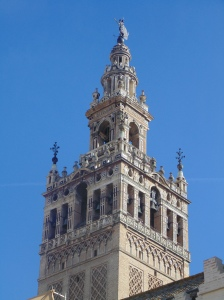 The cathedral bell tower